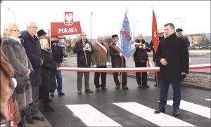 Rondo im. Rotmistrza Pileckiego w Rumi otwierali samorządowcy z miasta i powiatu oraz parlamenarzyści.