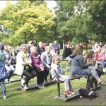 W ostatnią niedzielę, 1 lipca publiczność w parku bawił zespół Majestic.