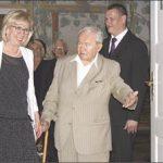 Wystawę otwierali: starosta wejherowski Gabriela Lisius, Edmund Kamiński - współinicjator powołania Muzeum i były dyrektor placówki oraz kurator wystawy, Maciej Kurpiewski.