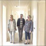 Remontowany budynek odwiedziła starosta wejherowski Gabriela Lisius oraz Małgorzata Woźniak - dyrektor Powiatowego Zespołu Kształcenia Specjalnego w Wejherowie. Paniom towarzyszył Mariusz Gustowski, właściciel firmy WOJ-MAR