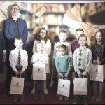 Wśród nagrodzonych czytelników znaleźli się także najmłodsi bywalcy Powiatowej Biblioteki.