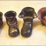 Ceramiczne buty autorstwa Adama Pienczke