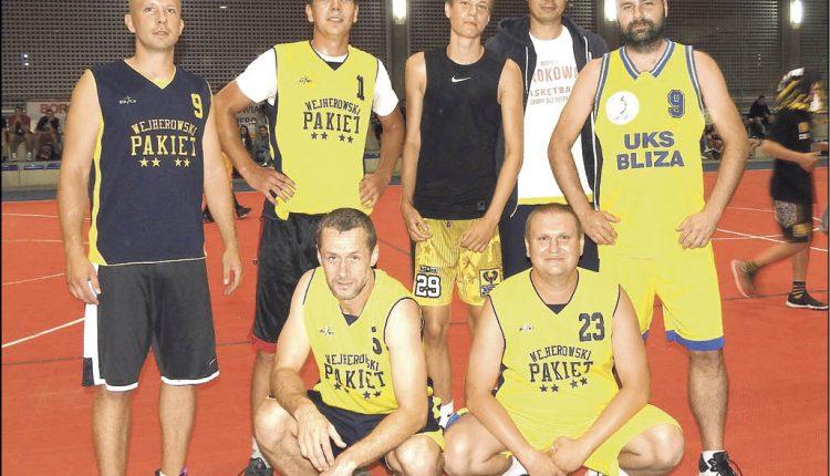 Wśród drużyn, rywalizujących w Wejherowskiej Nocy Basketu znaleźli się Piwosze i zespół Wejherowski Pakiet. Fot. Leszek Spigarski