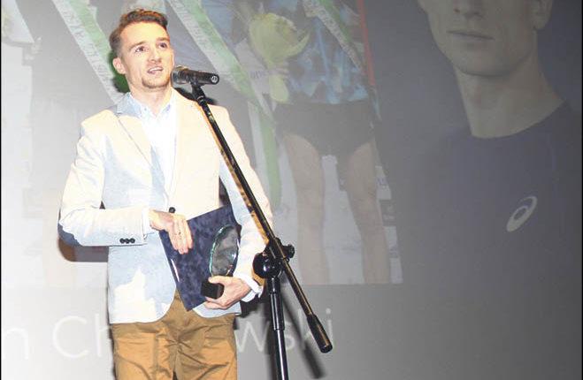 Najlepszy Sportowiec Marcin Chabowski