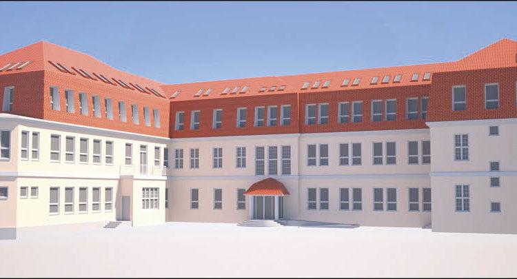 Tak będzie wyglądał budynek Starostwa w Wejherowie po rozbudowie.