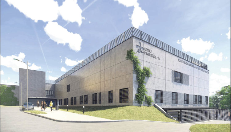 Tak będzie wyglądał nowy budynek szpitala. Wykonawcą inwestycji, która ma się zakończyć za dwa lata, jest firma Budimex S.A.