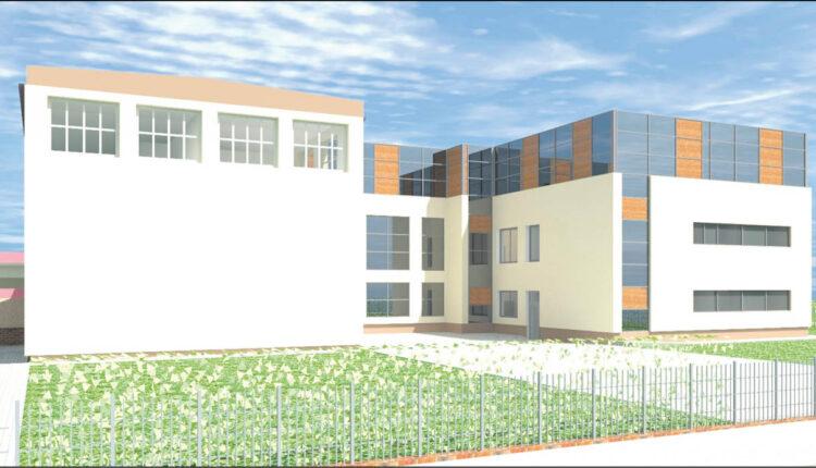 """Tak będzie wyglądał po modernizacji budynek wejherowskiego liceum """"Sobieskiego""""."""